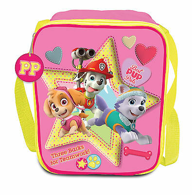Paw Patrol Girls Pink | Skye | Everest | Best Pals Insulated Lunch | School Bag
