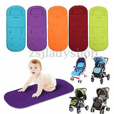 Washable Baby Trolley Stroller Pram Pushchair Seat Soft Liner Pad Cushion Mat CA