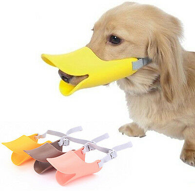 Dog Anti Bite Duck Mouth Shape Dog Mouth Cover Biteproof Pet Muzzle Affordable