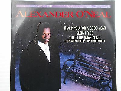 """Alexander O""""Neal - Thank You For A Good Year - Great 3 track 12"""" vinyl / Mint"""