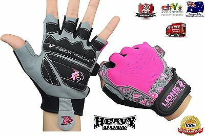 Lions Fit Ladies Gym BodyBuilding Fitness Training WeightLifting Exercise gloves