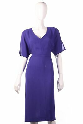 Jean Muir vintage purple dress