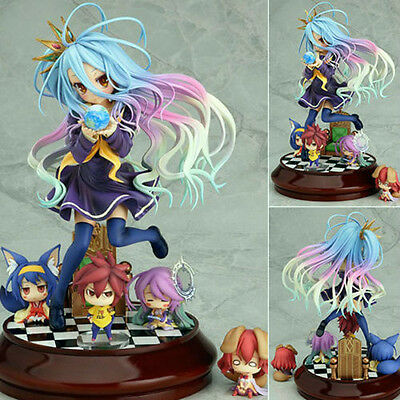 NEW Anime NO GAME NO LIFE SHIRO 1/7 Scale STAND VER. Figure Figurine New in Box