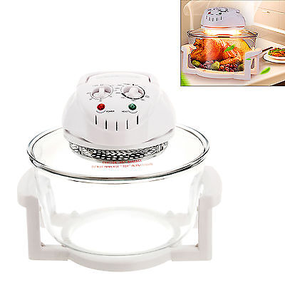 12L kitchen Convection Oven Microwave BBQ Infrared Wave Halogen Turbo Cooker