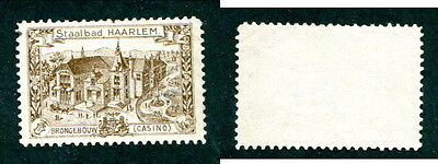 Mint Netherlands Casino Stamp (Lot #12108)