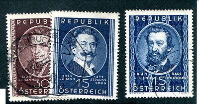 Used Austria #560 - 562 (Lot #11940)