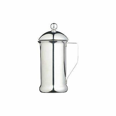 KitchenCraft LeXpressThree Cup Single Walled Stainless Steel Cafetiere
