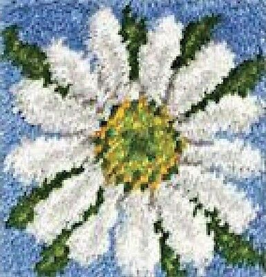 Daisy Latch Hook Rug  30cm x 30cm 426155 Wonderart