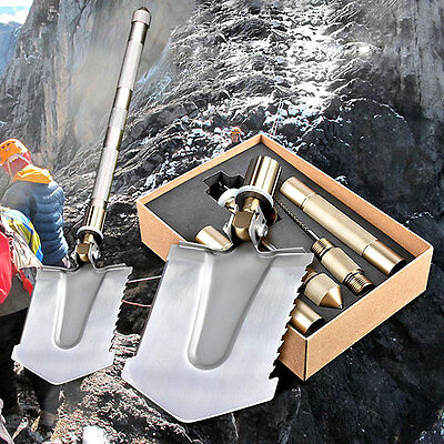 Military Utility Folding Multi Shovel Outdoor Camping Self Driving Survival Tool