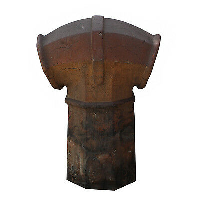 Salvaged Antique Terra Cotta Chimney Pot, Early 1900's, NMI68