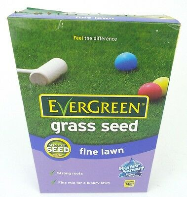 Scotts Miracle-Gro EverGreen Fine Lawn Grass Seed Carton, 420g