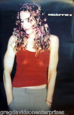 Madonna 23x35 Sexy Chinos Poster 1998