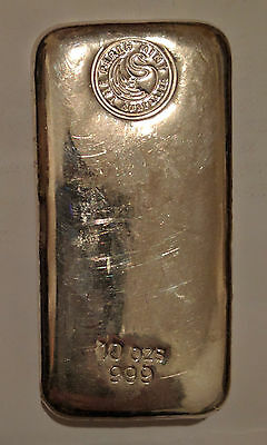 10oz 0.999 Australia The Perth Mint Silver Bullion Bar