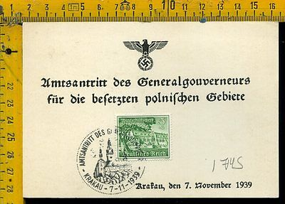 Germania Germany cover envelope Reich I 745