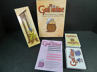 Guillotine Card Game by WotC French Revolution *Complete*
