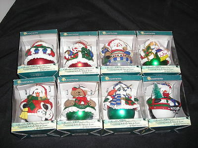 Christmas Ornament by Traditions Lot of 8