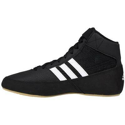 New Adidas HVC 2 Wrestling / Boxing Shoes - Black/White