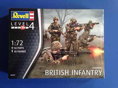 Brand New Revell British Infantry 1/72 Scale 02519
