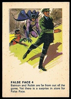 BATMAN • Weeties • 1966 • False Face 4