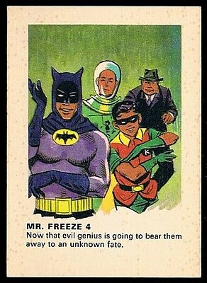 BATMAN • Weeties • 1966 • Mr Freeze 4