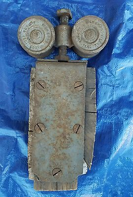 Richards Wilcox Barn Door Roller Slider vintage cast iron barn door trolley