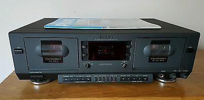 Philips FC930 double cassette deck