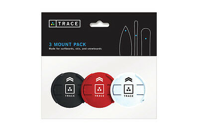 Trace 3-Pack Multi-Color Mounts