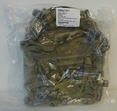 US Army Molle II Assault Backpack Multicam New In Packaging
