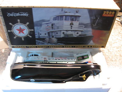 """Texaco """"Fire Chief"""" tugboat bank First in a Series"""