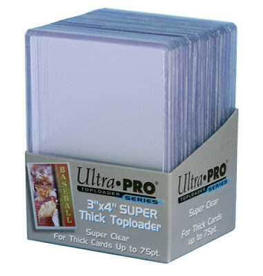 ULTRA PRO Top Loader - 3 x 4 Extra Thick