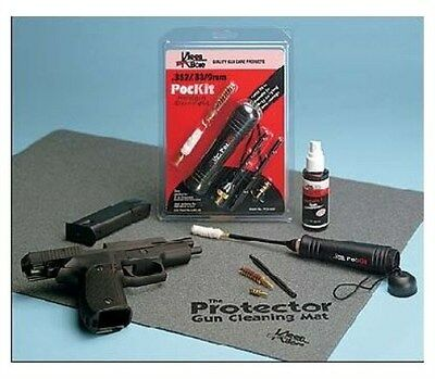 New! Kleen Bore PocKit 357/38/9mm Cleaning Kit Model: POC-222
