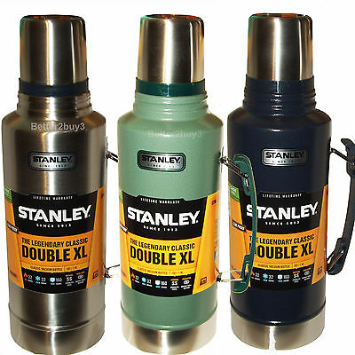 1.9L Double Xl Stanley Flask Stainless Steel Vacuum 1.9 Litre Thermos