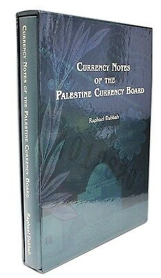 Palestine Book, Currency Notes of the Palestine Currency Board, Raphael Dabbah