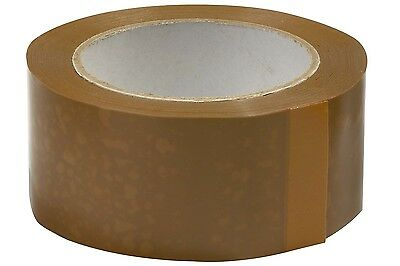 Cheapest Brown Buff  Strong Tape Rolls 50Mm-48Mm X66M Parcel Packing Box Sealing