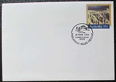 1985 World Heritage Sites - Willandra Lakes Pre-stamped Envelope / PSE