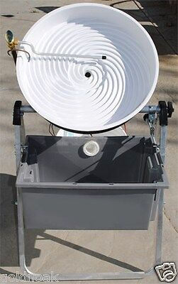 """WHITE 18"""" Pro-Camel Automatic Gold Panning Machine.CHRISTMAS GIFT FOR DAD?"""