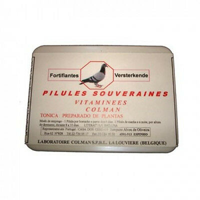 Pigeon Product - Capsules Souveraines Multivitamins  Colman  for Racing Pigeons