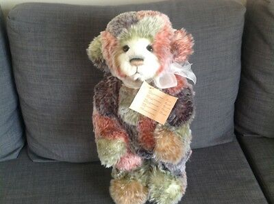 Collectable Handmade Fully Jointed Charlie Bear ~ Befuddle 2015 10th Aniversary