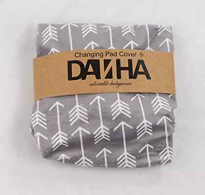 Changing Pad Cover Diaper Changing Pad Cover Baby Changing Pad Cover Grey Arrow