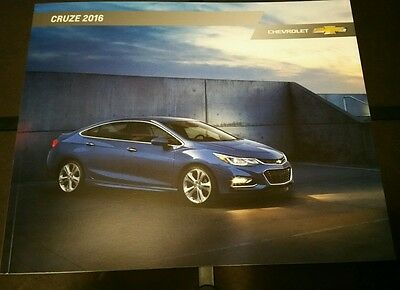 2016 CHEVY CRUZE 32-page Original Sales Brochure