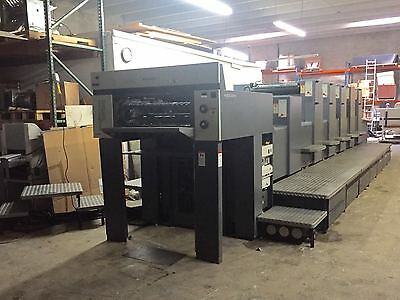 Heidelberg SM Speedmaster 74 - 5 + L with Coater 2001 with CP2000