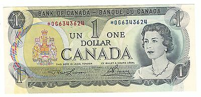 Canada 1973 $1 Banknote Lawson-Bouey *OG Replacement