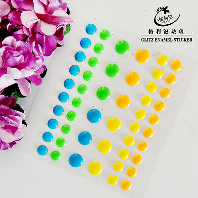 Sugar Sprinkles Self-adhesive Enamel Dots Resin Sticker for DIY Scrapbooking -03