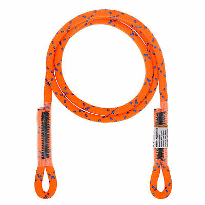"""20kN 8mm Eye to Eye Sewn 45"""" Prusik Cord for Tree Working Climbing Rescue Caving"""
