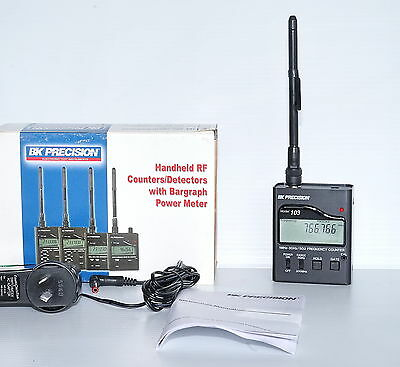 BK Precision 3GHz Handheld RF Frequency Field Strength Meter