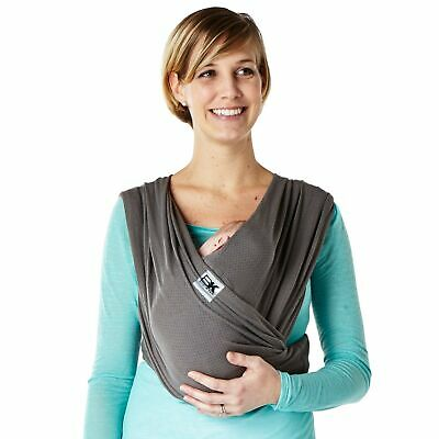Brand New Baby K'tan Breeze Baby Carrier, Charcoal, Large