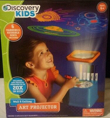 Discovery Kids Wall and Ceiling Art Projector NEW