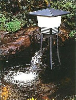 To clean the water garden pond koi pond all in one filter YAMABUKI from Japan