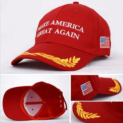2016 Make America Great Again Hat Donald Trump Republican Cap RED Beauty