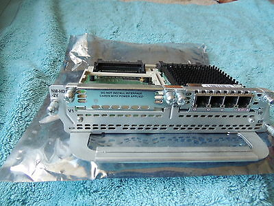 CISCO NM-HD-2V  with  VIC2-4FXO High-Density Digital Voice/Fax Module